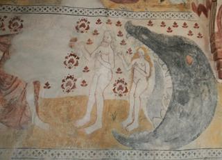 фрески на Аландах