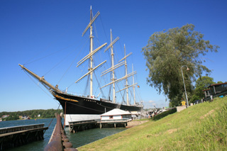 парусник Pommern, Mariehamn