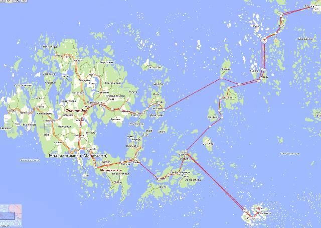 Аландские острова, велосипеды