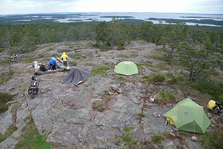 Orrdalsklint высшая точка Аланд