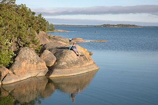 остров östra Simskäla