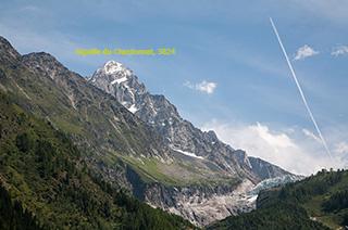 вершина aiguille du chardonnet (3824 m), долина шамони