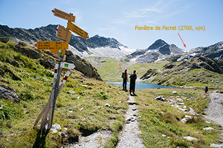 озеро фенетр и перевал, щвейцария