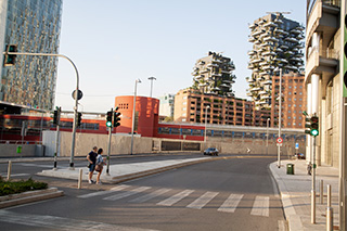 фото Милан район Porta Garibaldi