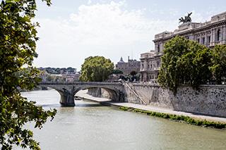 речка Tevere, Roma