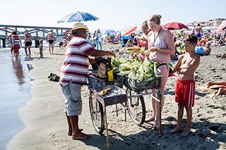 общественный бесплатный пляж в риме