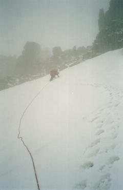 спуск с пер. Кучерявый в долину Белой Берели