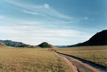 Алтайские степи. Усть-Канский район