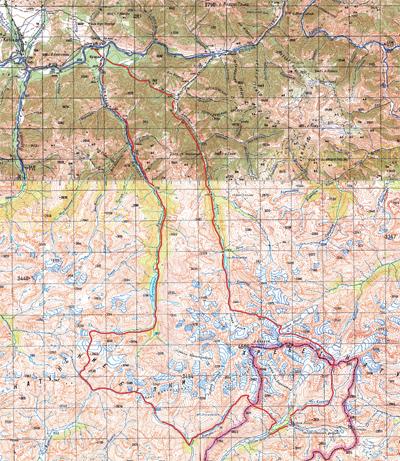 карта Алтай скачать