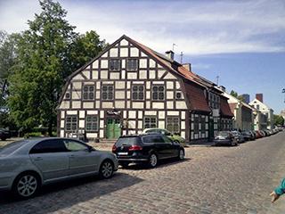 дома в стиле фахверк, Клайпеда