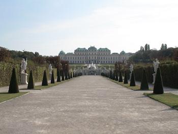 бельведер музей вена австрия