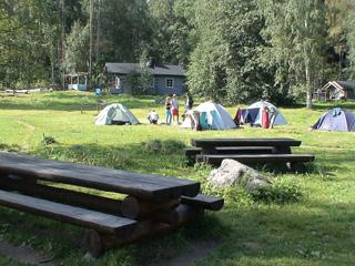 кемпинг, финляндия