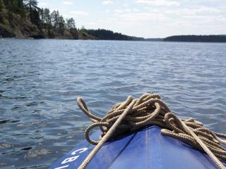 Финляндия, байдарочный поход по Сайме
