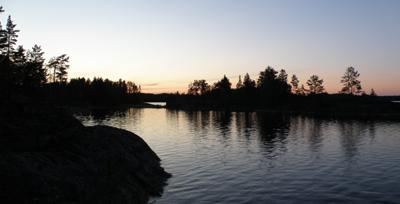 озеро луонтери, финляндия
