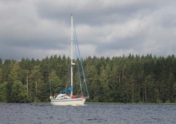 финляндия яхта