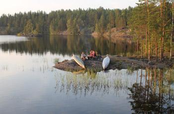дикая ночевка финляндия