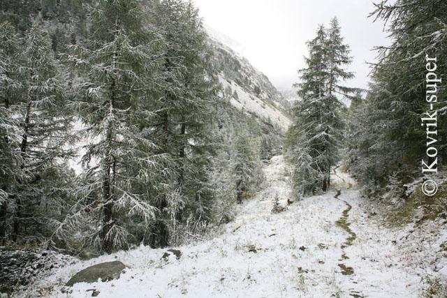 Швейцария, долина Ароллы, вторая декада сентября