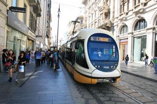 Милан, городской трамвай