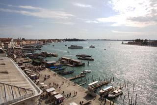 Венеция, вид из дворца Дожей