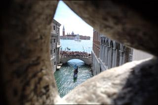 Венеция. Этот вид видели заключенные перед судом, и вздыхали…
