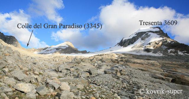 перевал Gran Paradiso
