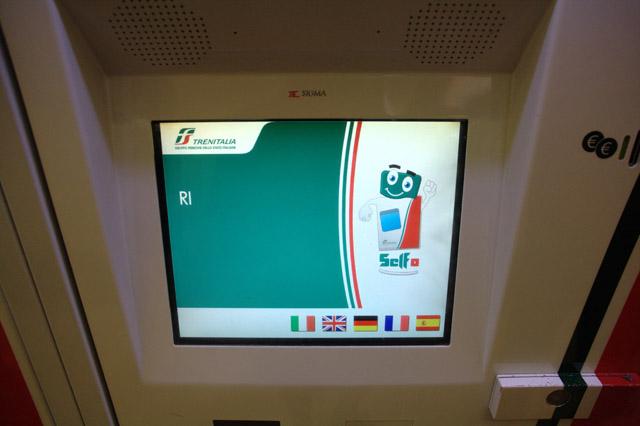 как покупать жд билеты в Италии