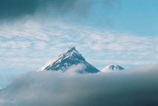 Камчатка. Северная группа вулканов + Авачинский, Горелый, Мутновский.
