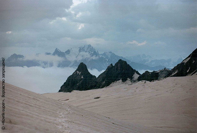 Центральный Кавказ, район Безенги, горный поход
