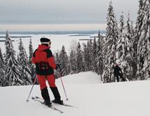Коли, горные лыжи в Финляндии