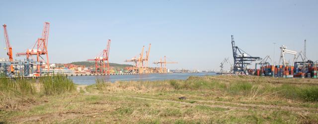 Гдыня, порт. Польша