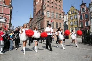 Студенческий праздник. Гданьск, Польша
