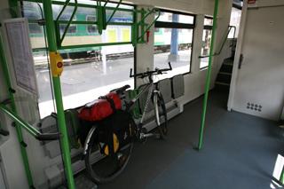 перевозка велосипеда по железной дороге Польша