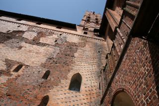 замок в Мальборке Польша
