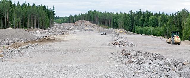 строительство автобана к российской границе