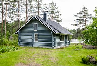 дача в финляндии, сауна