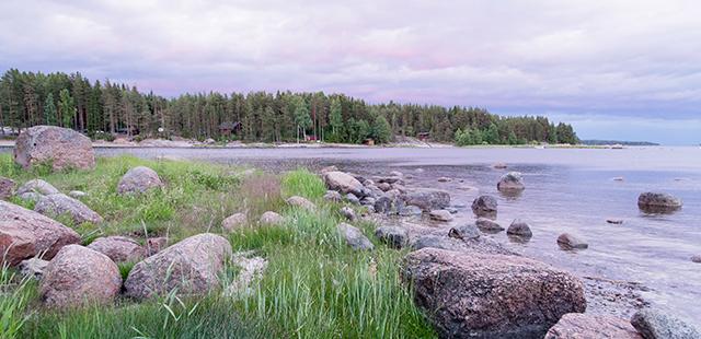 Финляндия, море