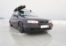 дорога по льду, Финляндия