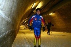 Вуокатти лыжный тоннель