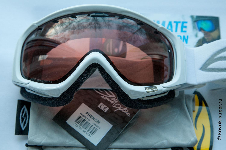 горнолыжная маска очки smith phenom купить