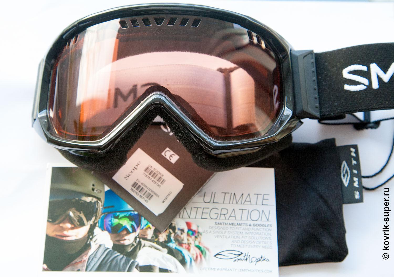 горнолыжная маска очки smith scope