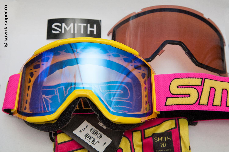 горнолыжная маска очки smith squad