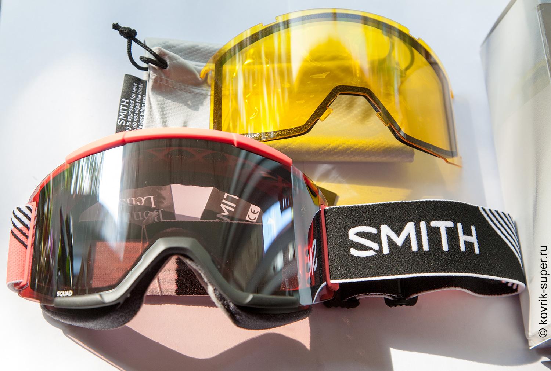 горнолыжная маска очки smith squad chromapop