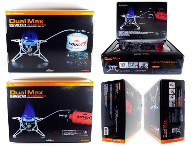 Многотопливная горелка Kovea KB-N0810 Dual Max Stove