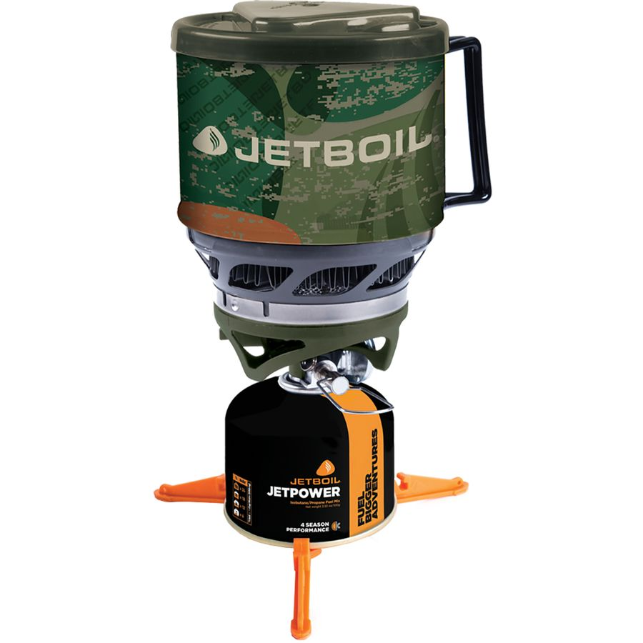 jetboil minimo - универсальный вариант горелки и кастрюли