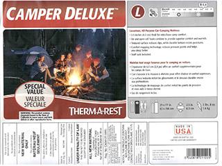 самонадувающийя коврик therm-a-rest camper deluxe комплектация