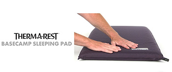 самонадувающийcя коврик therm-a-rest basecamp купить