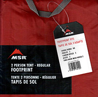 футпринт для палатки MSR Hubba Hubba