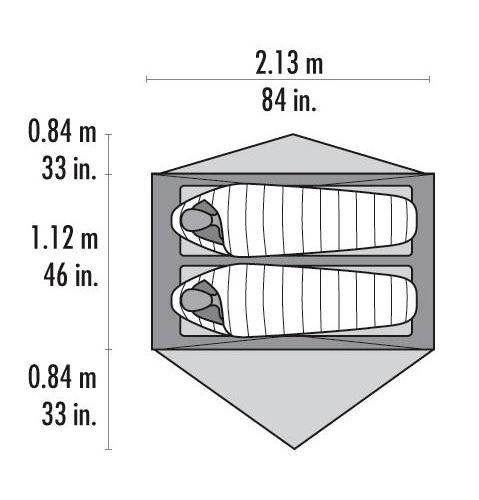 палатка MSR Carbon Reflex 2