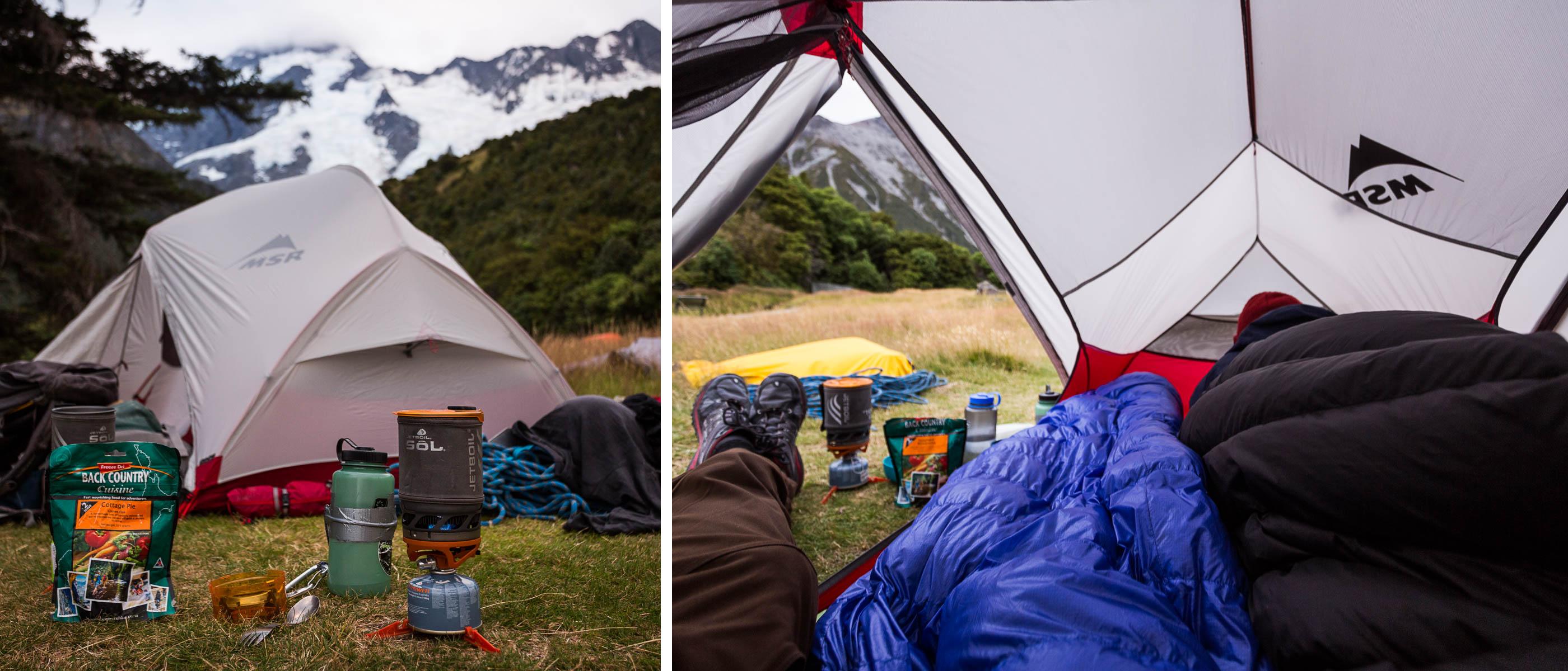 туристическая палатка hubba hubba