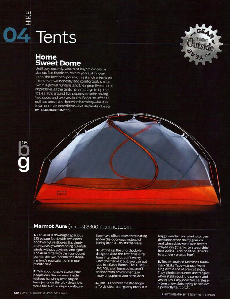 палатка Marmot Aura 2P обзор